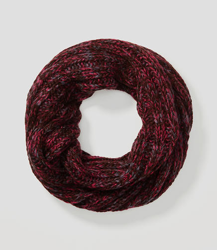Image of Marled Infinity Scarf