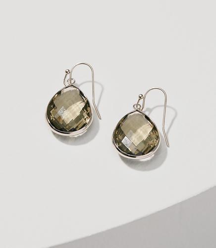 Image of Stone Drop Earrings