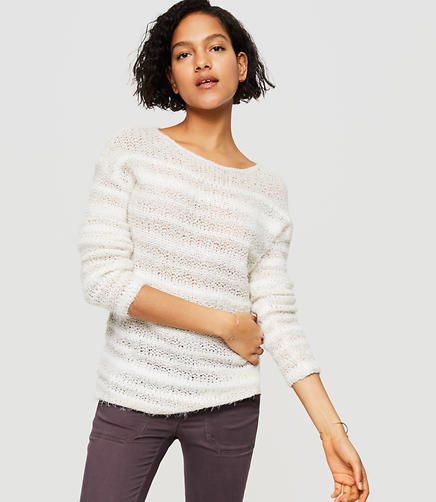 Image of Lou & Grey Fuzzstripe Sweater