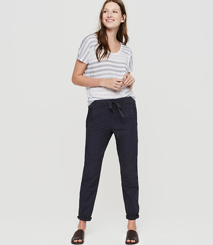 Lou & Grey Poplin Pants