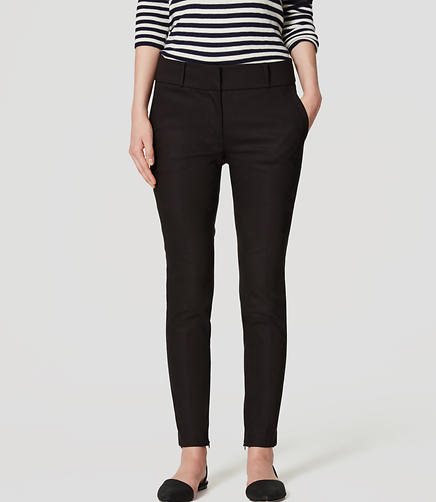 Image of Ankle Zip Essential Skinny Pants in Marisa Fit
