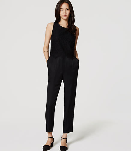 Image of Lace Top Jumpsuit