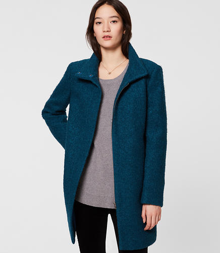 Image of Funnel Neck Coat