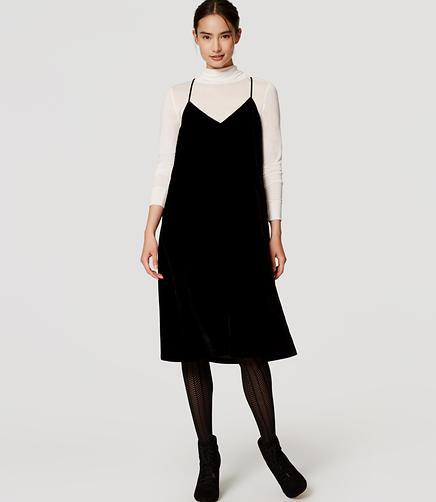 Image of Velvet Slip Dress