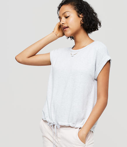 Image of Lou & Grey Signaturesoft Drawstring Tee