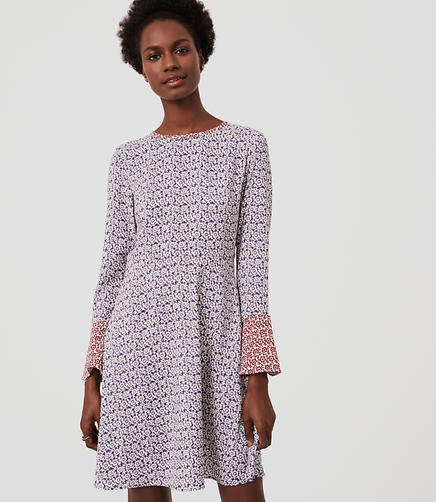 Image of Magnolia Bell Sleeve Dress