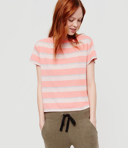 Image of Lou & Grey Striped Petalsoft Tee