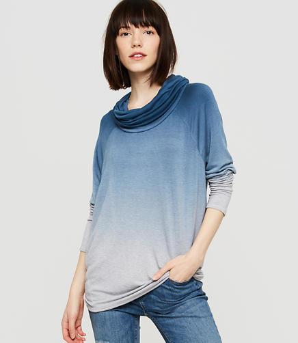Image of Lou & Grey Ombre Cowl Tunic