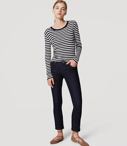 Image of Modern Slim Ankle Jeans in Dark Rinse Wash