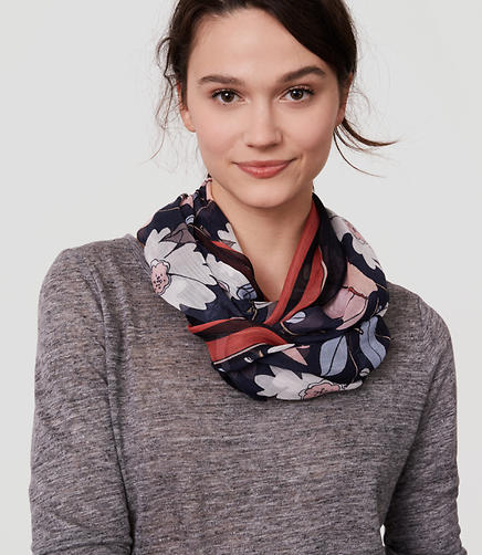 Image of Bloom Infinity Scarf