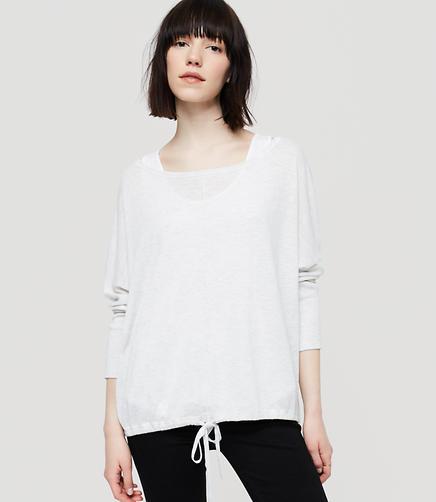 Image of Lou & Grey Drawstring Sweater