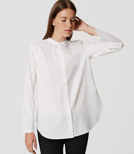 Image of Bell Sleeve Softened Shirt