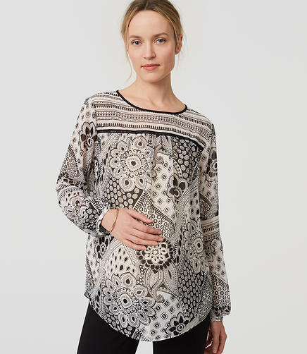 Image of Maternity Gypsy Rose Blouse