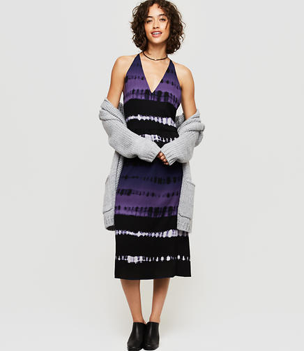 Image of Lou & Grey Shibori Strappy Midi Dress