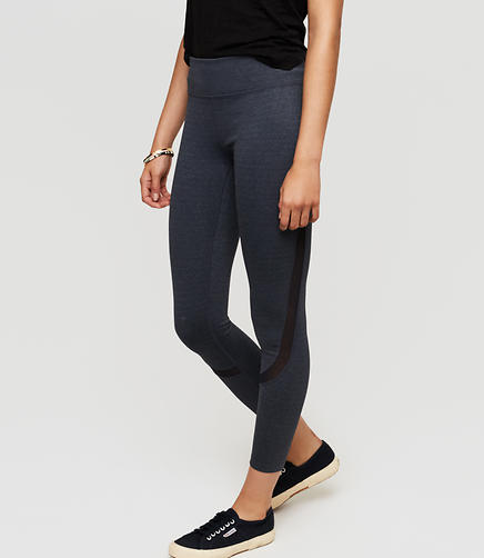 Image of Lou & Grey Form Seamed Mesh Streeeetch Leggings