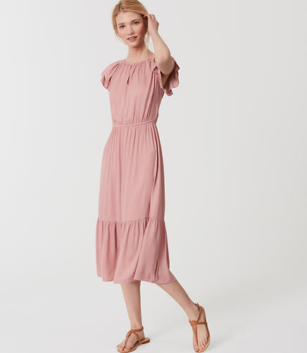 Image of Blush Flutter Dress