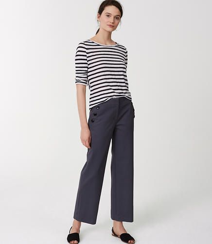 Image of Cropped Sailor Pants