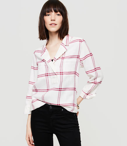 Image of Lou & Grey Plaid Flannel Palette Shirt
