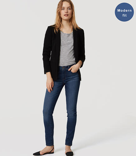 Image of Modern Skinny Jeans in Classic Mid Vintage Wash
