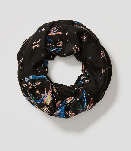 Image of Snowbird Floral Infinity Scarf