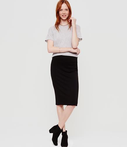 Image of Lou & Grey Signaturesoft Pencil Skirt