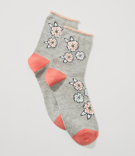 Image of Bloom Ankle Socks