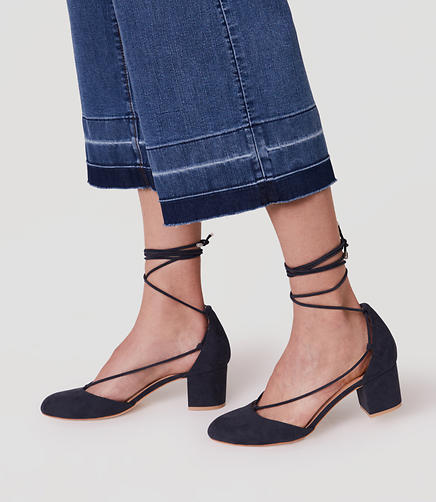 Image of Strappy Block Heels