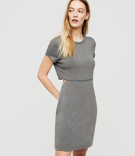 Image of Lou & Grey Signaturesoft Cutout Dress