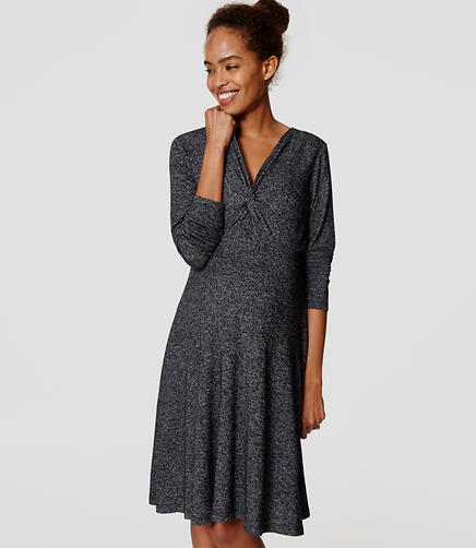Image of Maternity Twist Dress