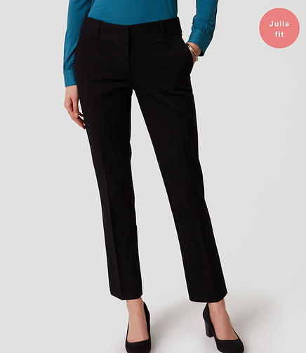 Image of Bi-Stretch Straight Leg Pants in Julie Fit