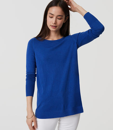 Image of Back Pleat Sweater
