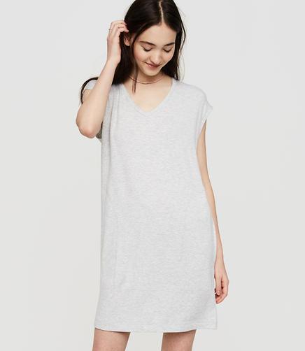 Image of Lou & Grey Signaturesoft Pocket Tee Dress