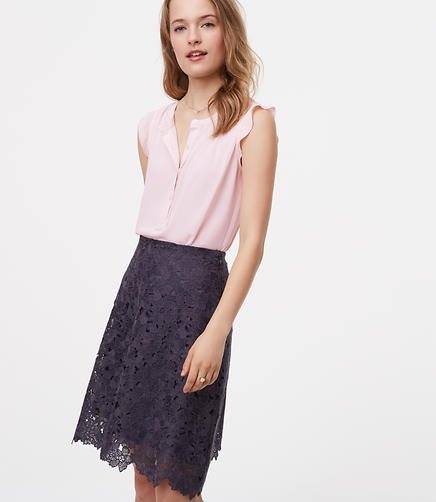 Image of Garden Lace Skirt