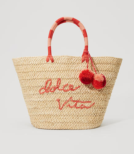 Image of Dolce Vita Straw Tote