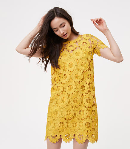 Image of Sunflower Lace Dress