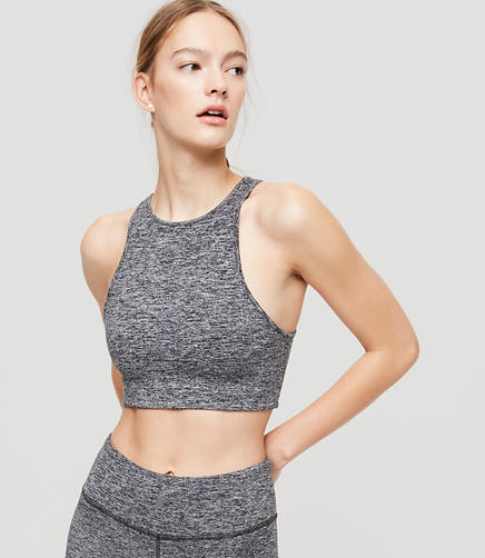 Image of Lou & Grey Brushed Streeeetch Crop Top