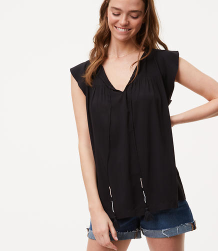 Image of Tassel Top