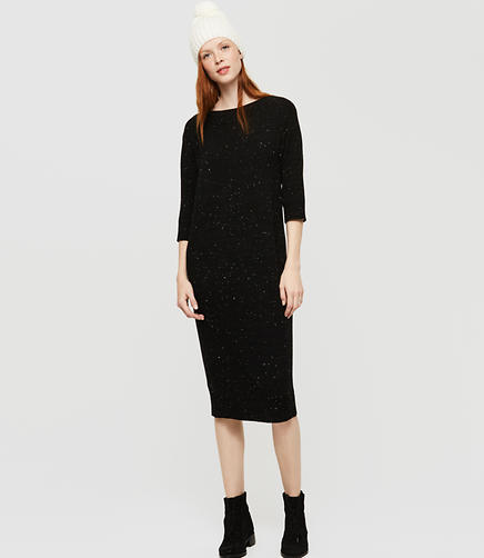 Image of Lou & Grey Pocket Midi Sweater Dress
