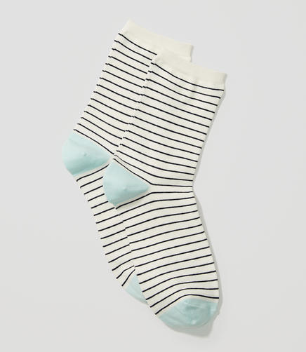 Image of Skinny Stripe Crew Socks