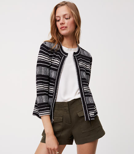Image of Geo Knit Jacket