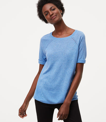 Image of Short Sleeve Sweater