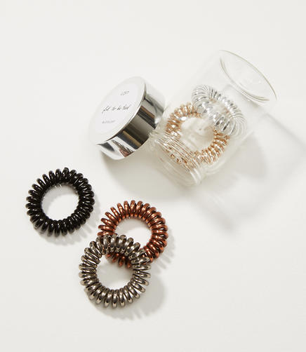 Image of Metallic Hair Tie Set