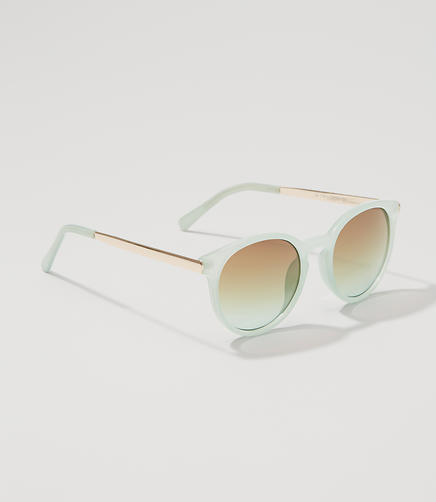 Image of Keyhole Round Sunglasses