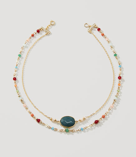 Image of Beaded Stone Choker