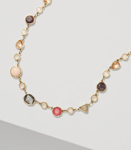 Image of Mixed Stone Illusion Necklace
