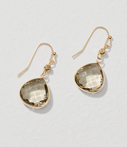 Image of Multifaceted Drop Earrings