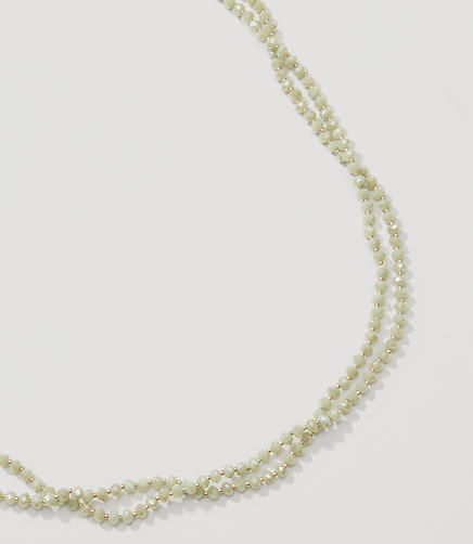 Image of Extra Long Beaded Necklace