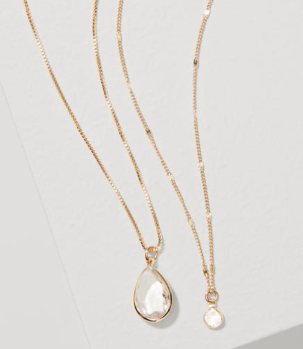 Image of Layered Drop Necklace