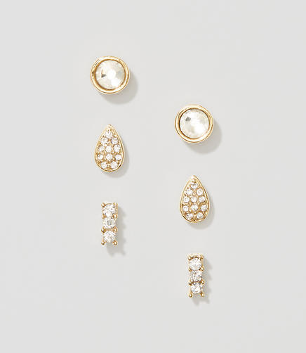 Image of Crystal Stud Earring Set