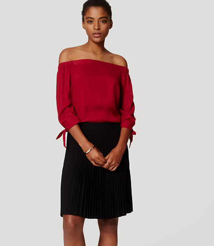 Image of Off the Shoulder Blouse